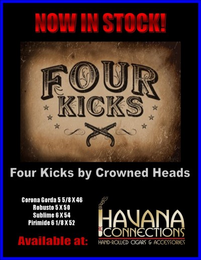Four Kicks by Crowned Heads Cigar